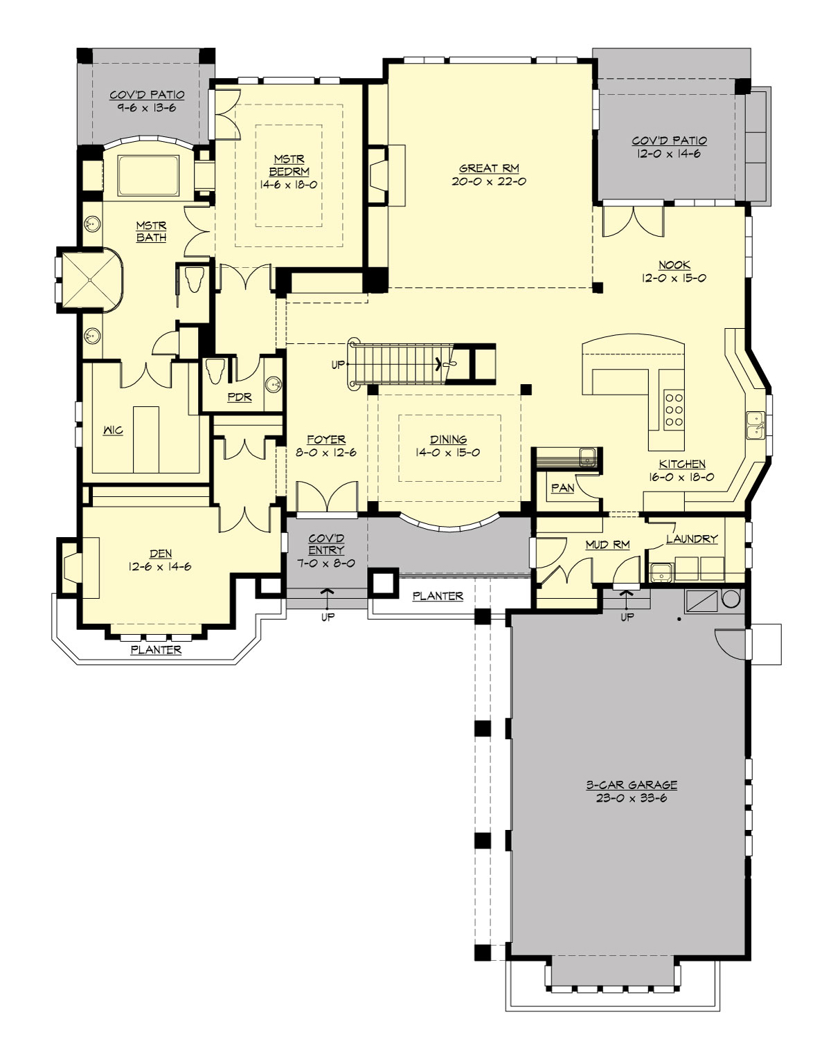 Greenleaf Retreat 3361 4 Bedrooms and 4 Baths The House Designers