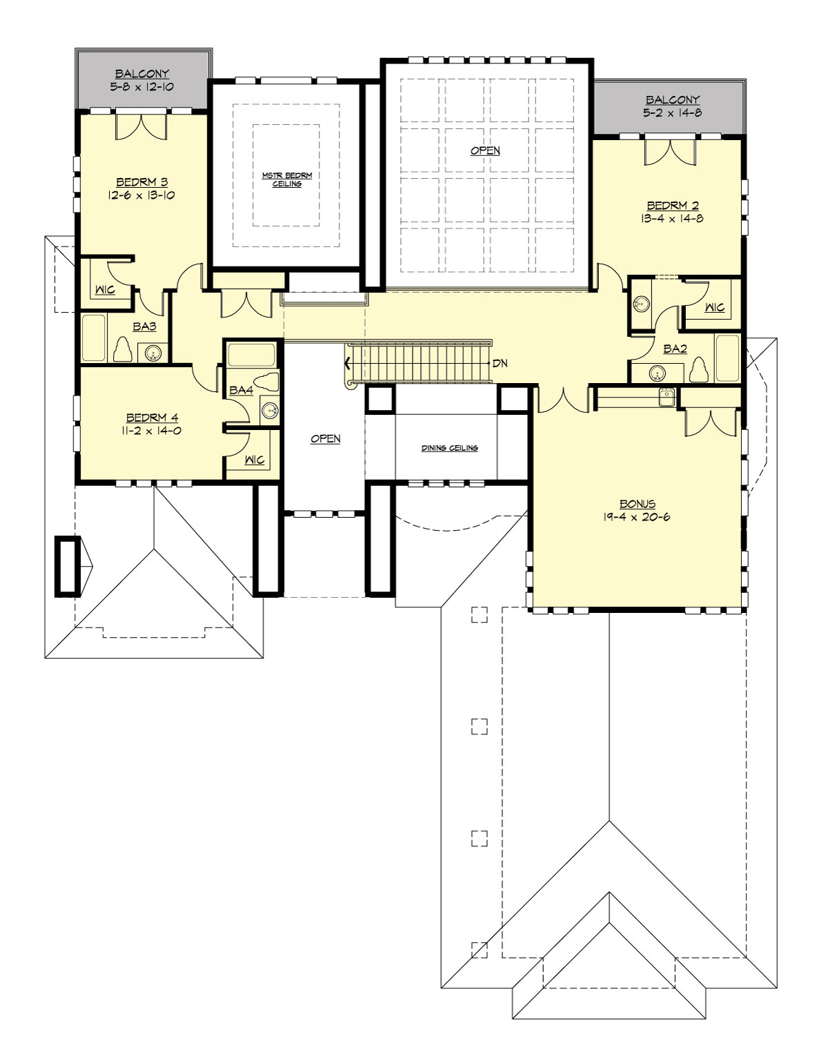Greenleaf retreat 3361 4 bedrooms and 4 baths the for The retreat floor plans
