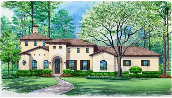 image of VILLA ROBERTO House Plan