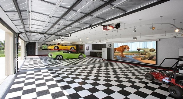 Man cave design ideas for father s day the house designers for 1 5 car garage plans
