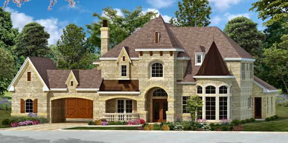 European estate house plan with luxury for European estate house plans