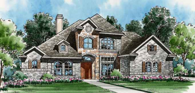 Avondale 4537 4 Bedrooms And 4 Baths The House Designers