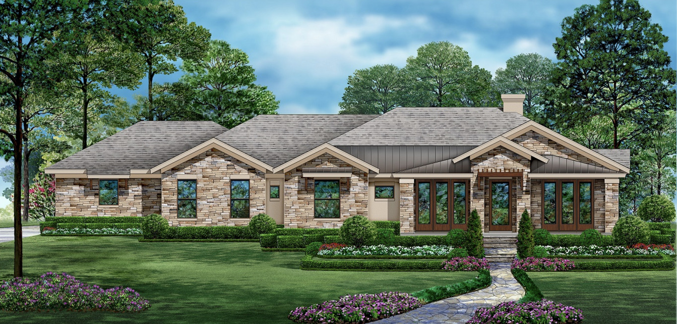 Open Floor Plan Ranch Style House Plan 7486,House Floor Plans Ranch Style