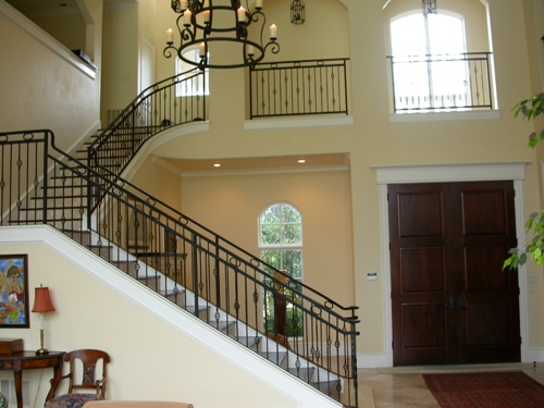 Open Foyer Loft : Sardegna bedrooms and baths the house designers