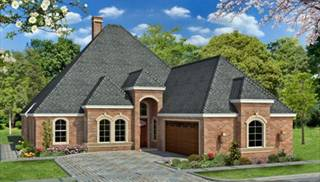 Country french house plans euro style home designs by thd for Stone creek house plan