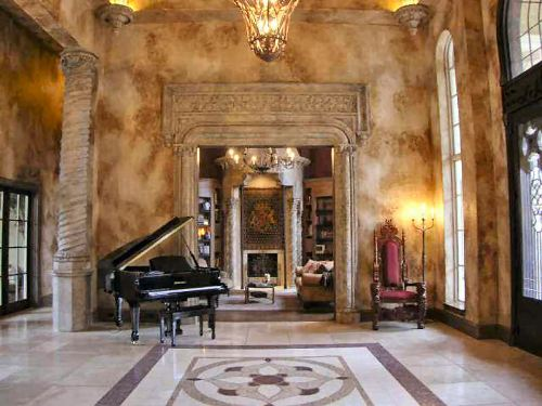 Grand Foyer House Plan : Vaquero bedrooms and baths the house designers