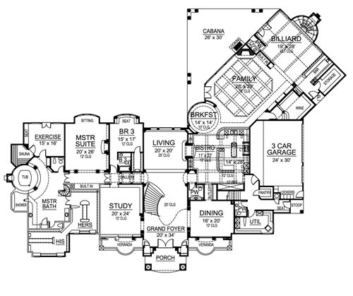 Foyer Plan Quote : Image gallery versailles blueprints