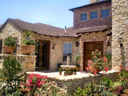 Villa toscana 4949 4 bedrooms and 4 baths the house designers - Tuscan style house plans passionate architecture ...