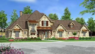 image of Unique Craftsman House Plan