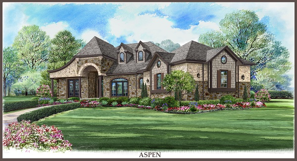 Aspen 5535 3 bedrooms and 3 5 baths the house designers for Aspen house plans