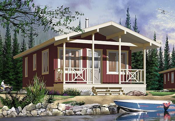 Life under 500 square feet benefits of tiny house plans for Small vacation home floor plans