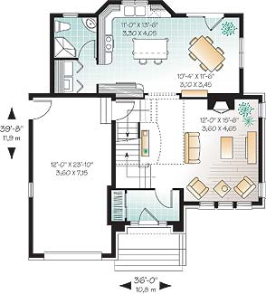 Three bedroom home has children 39 s hiding place for Floor plans hidden rooms
