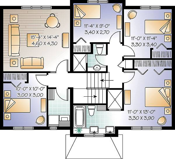 The madison 1890 4 bedrooms and 2 baths the house for 1890 house plans