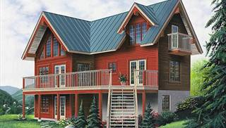 image of The Treetops House Plan