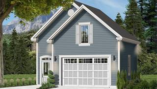 image of The Townside 1 House Plan