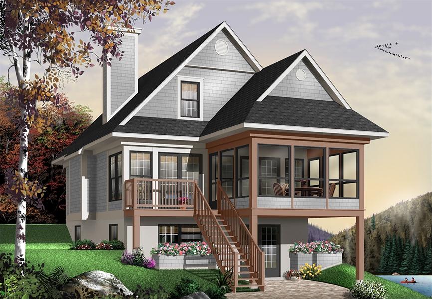 Super Two Story Cottage House Plan Download Free Architecture Designs Embacsunscenecom