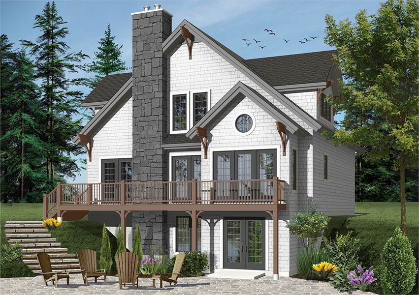Craftsman Style Cottage House Plan 4954 The Touchstone 3