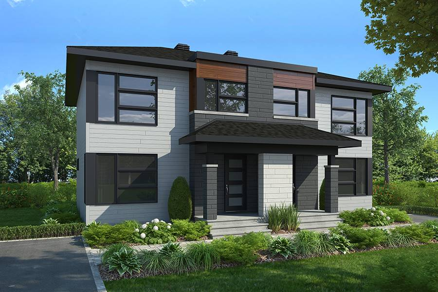 House Plan 6264: Affordable Duplex