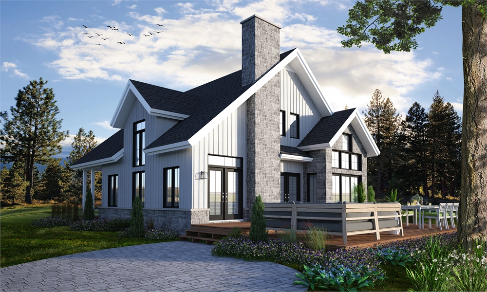 House Plan 7378: Award winning house plans