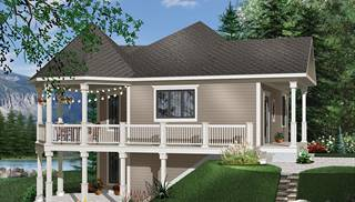 image of The trail seeker 1 House Plan