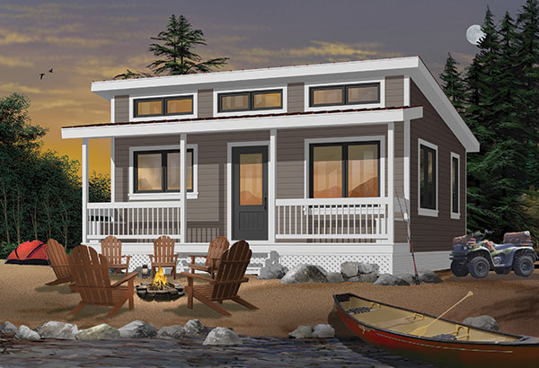 1904 V2 Rendering 1 - Get Small House Design One Room Pics