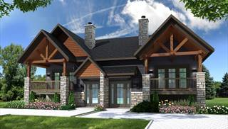 image of Aspen Lodge House Plan