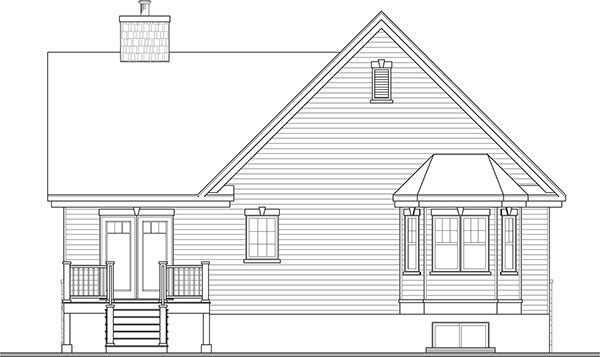 four-bedroom cottage house plan