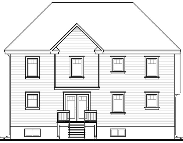 Kensington 9547 4 Bedrooms And 2 Baths The House Designers