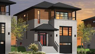 Split-Level House Plans & Home Designs | The House Designers