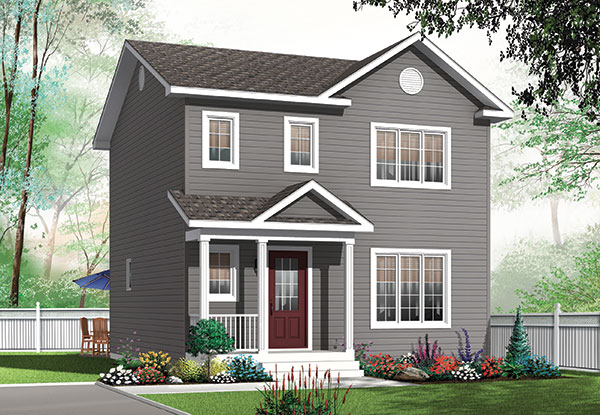 Affordable House Plan With 3 Bedrooms