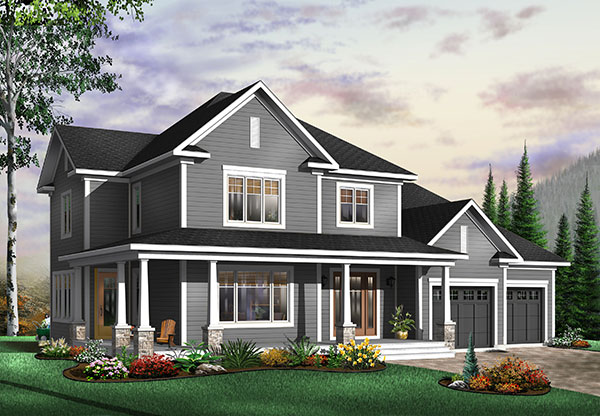 Prime Craftsman Style House Plan 9818 Eliana Interior Design Ideas Tzicisoteloinfo