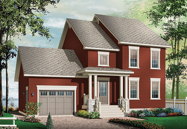 Tommy 9546 3 Bedrooms And 2 5 Baths The House Designers