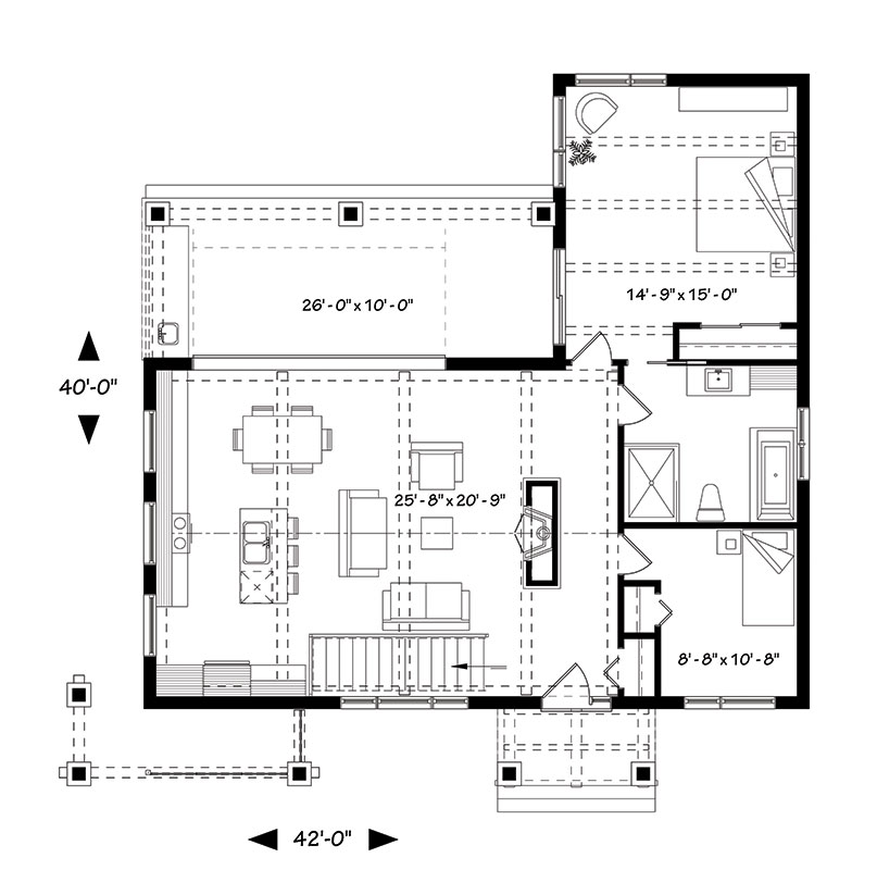Olympe 1445 2 Bedrooms and 1 5 Baths