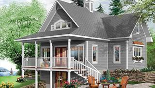 image of beautiful vistas house plan - Beach Home Plans