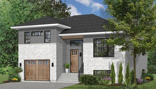 Split Level House Plans Home Designs The House Designers
