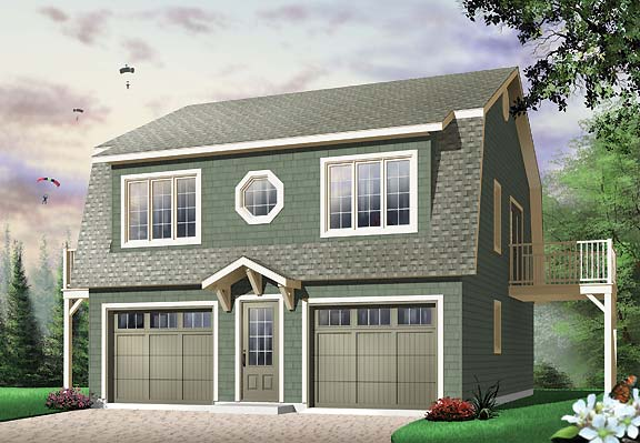 Large garage with full guest house above for Large garage plans with apartment above