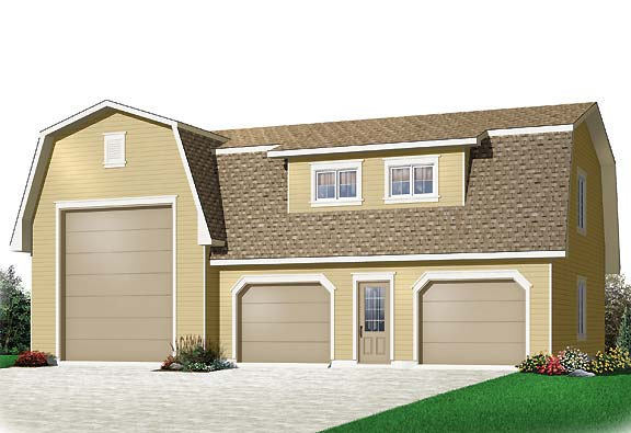 House Plan 4782: House Plans with Detached Garages