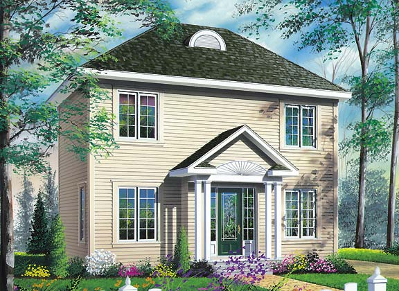 Manley 4682 3 bedrooms and 1 bath the house designers for Maison eplans