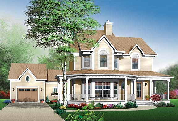 Top three victorian house plans the house designers The house planner