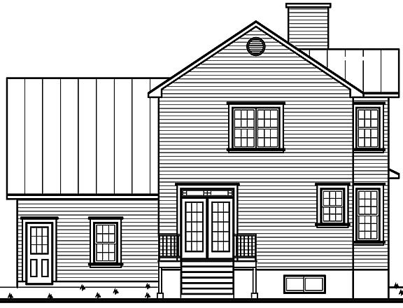 Victorian style home plan with bay windows for Honeycomb house floor plan