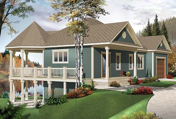 Tiny Home Designs: Vacation House Plan With Lovely Gazebo