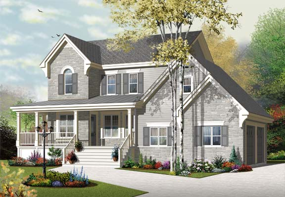 Two Story Traditional Home With Bonus Room