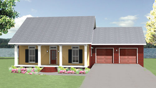 The willow cottage 1711 3 bedrooms and 2 5 baths the for The willow house plan