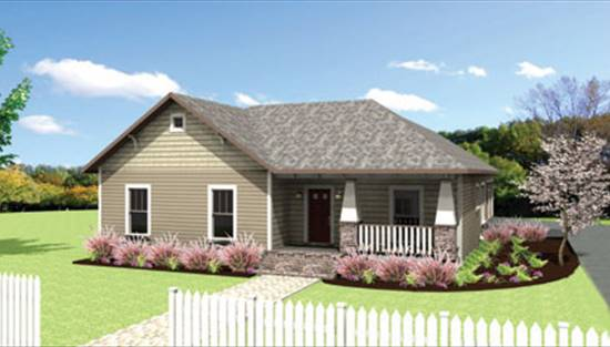 image of The Rosehill Cottage House Plan