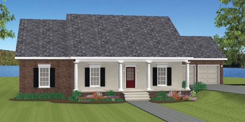 1629-R2 Ranch Home Plans With Great Room on farmhouses with great room, sectional in great room, floor plans with great room,