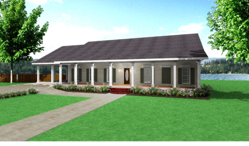 Lakeside 8227 4 Bedrooms and 2 Baths The House Designers