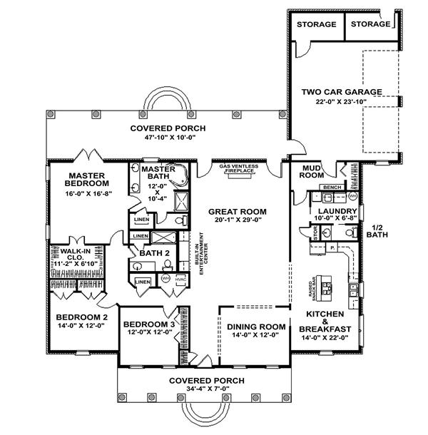 The richmond 7040 3 bedrooms and 2 baths the house for 101 richmond floor plans
