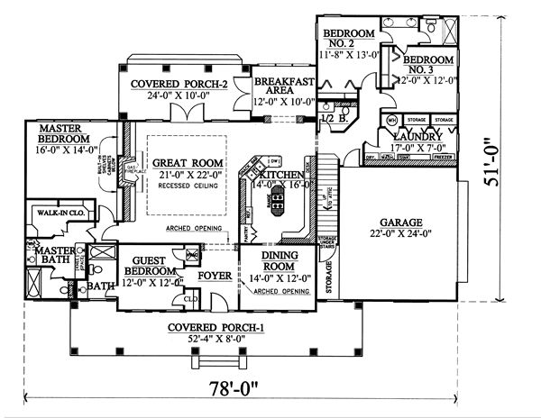The European 5676 4 Bedrooms And 3 Baths The House