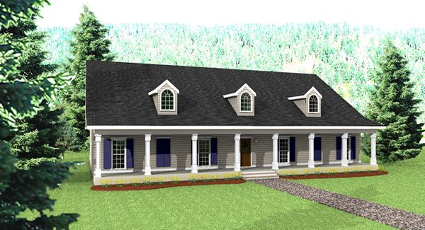 Big country 5746 4 bedrooms and 3 5 baths the house for Big houses in the country
