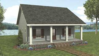 image of Red Creek Cottage House Plan